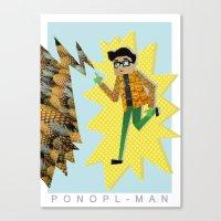 PONOPL-MAN Canvas Print