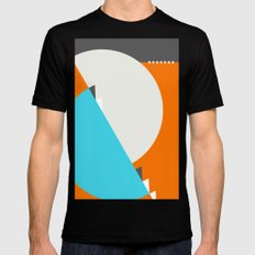 Spot Slice 04 SMALL Black Mens Fitted Tee