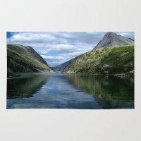 Rondane - Rondevannet  Norway Rug