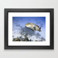 I'm Keeping my Eye on You Framed Art Print