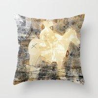 X brand Throw Pillow