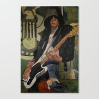 Johnny - ANALOG zine Canvas Print
