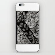 Drawing 3 White iPhone & iPod Skin