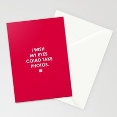 Eyes could take photos Stationery Cards