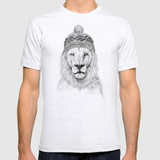 Winter Is Coming Mens Fitted Tee Ash Grey SMALL