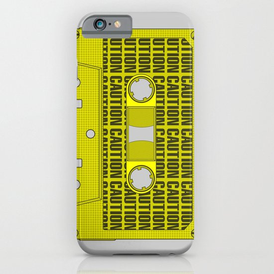 Caution Tape iPhone & iPod Case