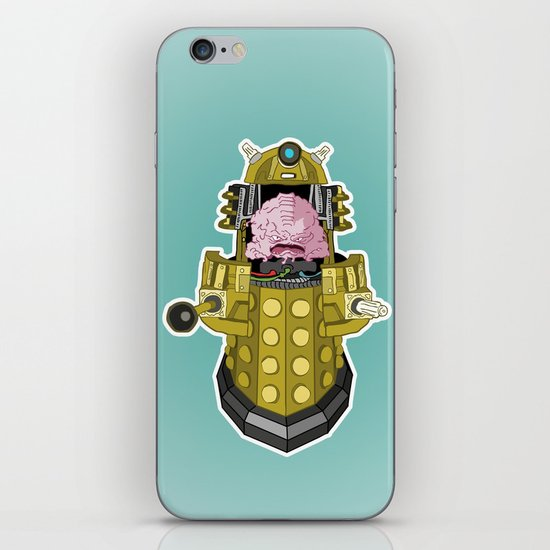 Kralek: Exterminate the Turtles! iPhone & iPod Skin