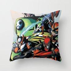CartoonMix Throw Pillow