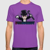 FSociety Mens Fitted Tee Ultraviolet SMALL