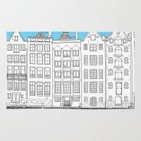 Dancing Houses, Amsterda… Rug