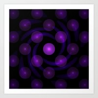 Light Balls Art Print