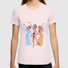 Work! (The Schuywalkers) Womens Fitted Tee Light Pink SMALL