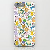 Cute Pokémon Doodle  iPhone 6 Slim Case