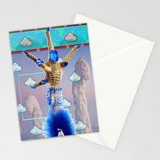 trappa•keepa who did yr nailz grrrl? Stationery Cards