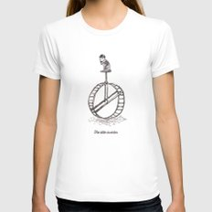 The Little Inventor Womens Fitted Tee White SMALL