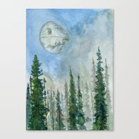 The Endor Morning Sky Canvas Print