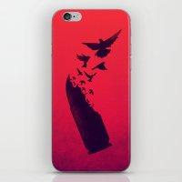 Bullet Birds iPhone & iPod Skin