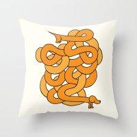 Dachshund. Throw Pillow