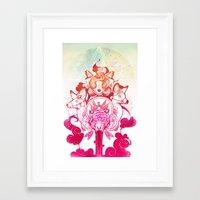 Tiger's Blood Framed Art Print