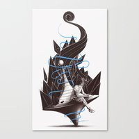 Trying To Find A Balance Canvas Print