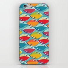 Abstract Shape Repeat iPhone & iPod Skin