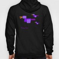 Happy Bird-Purple Hoody