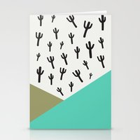 Cactus – Minty Stationery Cards
