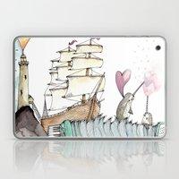 Accordion Sea Laptop & iPad Skin