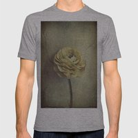 Vintage Blossoms Mens Fitted Tee Athletic Grey SMALL