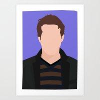 Ryan Reynolds Portrait Art Print