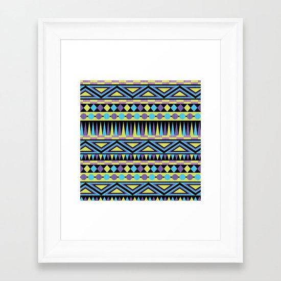Pattern Playtime Framed Art Print