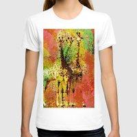 giraffe T-shirts featuring Giraffe  by Saundra Myles