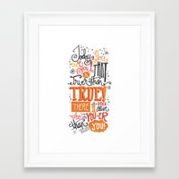 TODAY YOU ARE YOU... - DR. SEUSS Framed Art Print