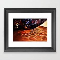 Banks of Glass Framed Art Print