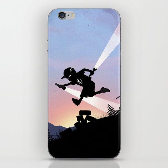Flash Kid iPhone & iPod Skin