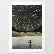 The Last Rain  Art Print