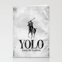 Yolo Polo - Game Of Thro… Stationery Cards