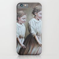 iPhone & iPod Case featuring before it's all dark (the promenade) by karien deroo