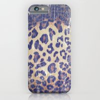 iPhone & iPod Case featuring Lackluster Leopard by kangarooster