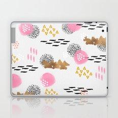 I Woke Up Geometric / Geometrci Abstract Modern Pattern Laptop & iPad Skin