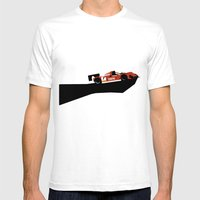 333sp Mens Fitted Tee White SMALL