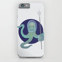 iPhone & iPod Case featuring Lil Alien - Squiddy  by mrbiscuit