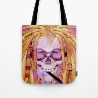 Jamaican Skull Tote Bag