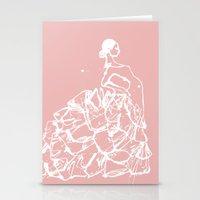 Flamenco Skirt Stationery Cards