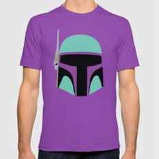STAR WARS CLONE TROOPER Mens Fitted Tee Ultraviolet SMALL