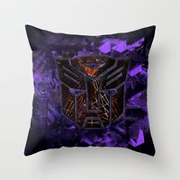 Autobots Abstractness - … Throw Pillow