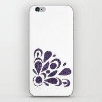 morado iPhone & iPod Skin