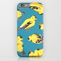 Goldfinches iPhone 6 Slim Case