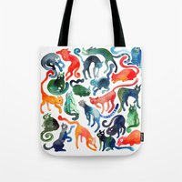 Cats United Tote Bag