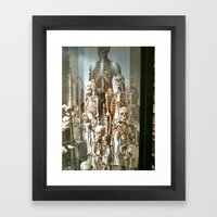 Skeletons Framed Art Print